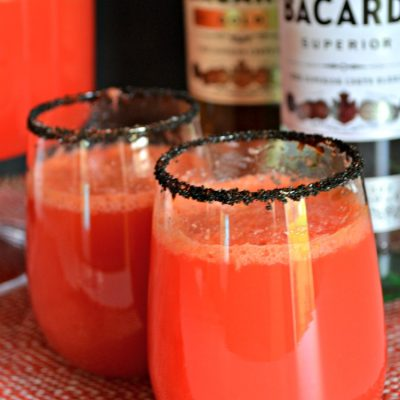 Halloween Punch for Adults Only!