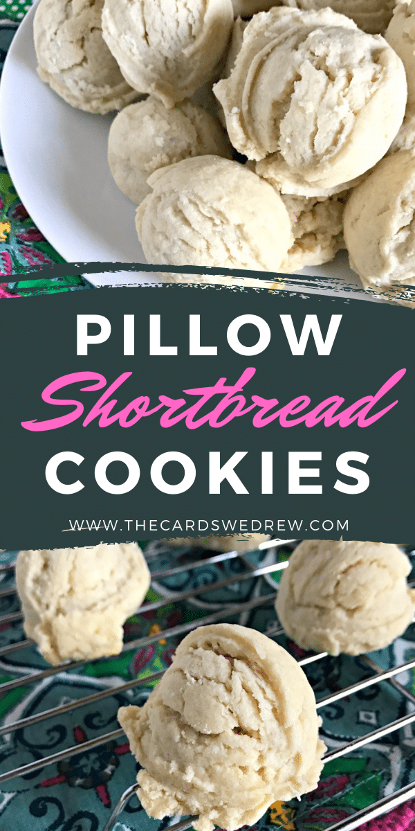 Pillow Shortbread Cookies