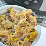Slow Cooker BBQ Ranch Chicken Casserole