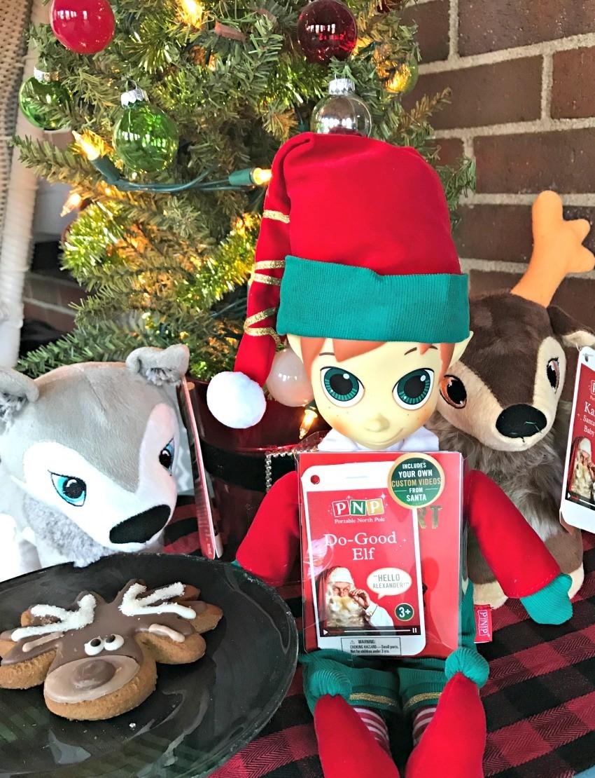 Free Santa Wishlist Printable + Portable North Pole Christmas - The ...