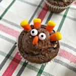 Thanksgiving Brownie Turkeys