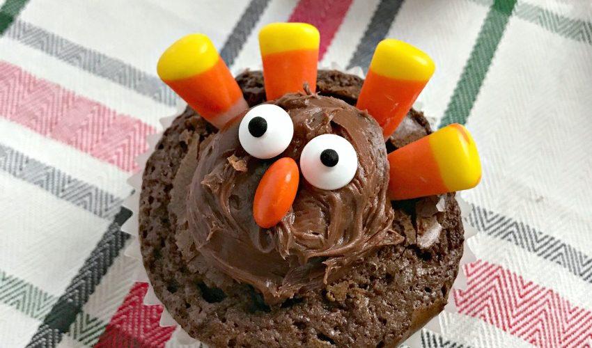 Thanksgiving Brownie Turkeys