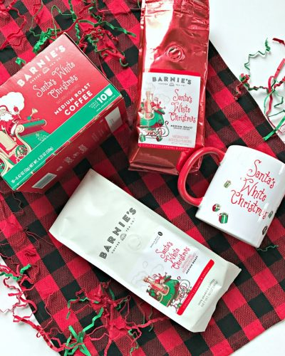 The BEST Coffee for the Holidays…Santa's White Christmas