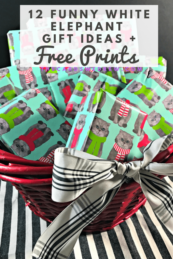 White Elephant Gift Ideas plus White Elephant Rules Printable