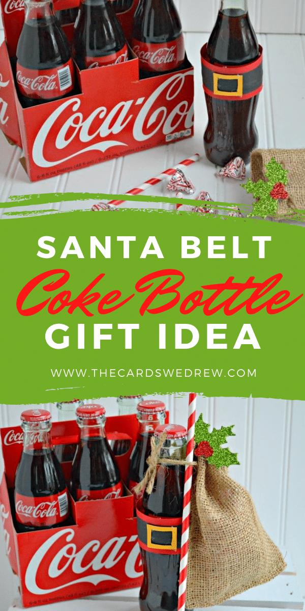 Santa Belt Coke Bottle Gift Idea