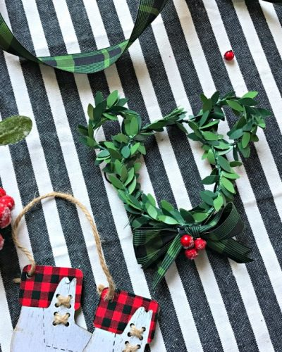 Mickey Mouse Farmhouse Ornament + Southern California Giveaway!