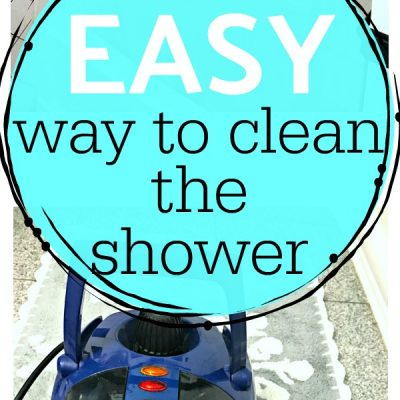 The EASY Way to Clean the Shower