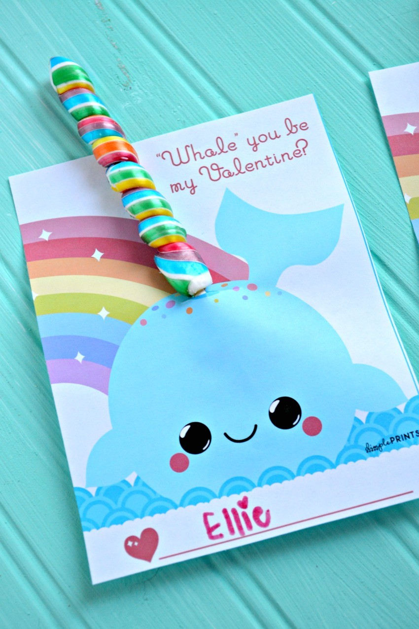 narwhal valentine