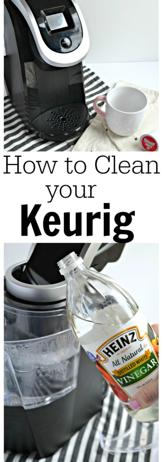 clean a keurig coffee maker