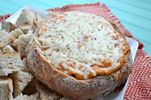 stuffed bread pizza dip