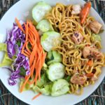 Easy Asian Noodle Salad with Soy Vinaigrette