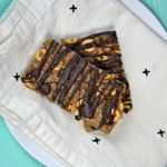 Peanut Butter Chocolate Homemade Cereal Bars