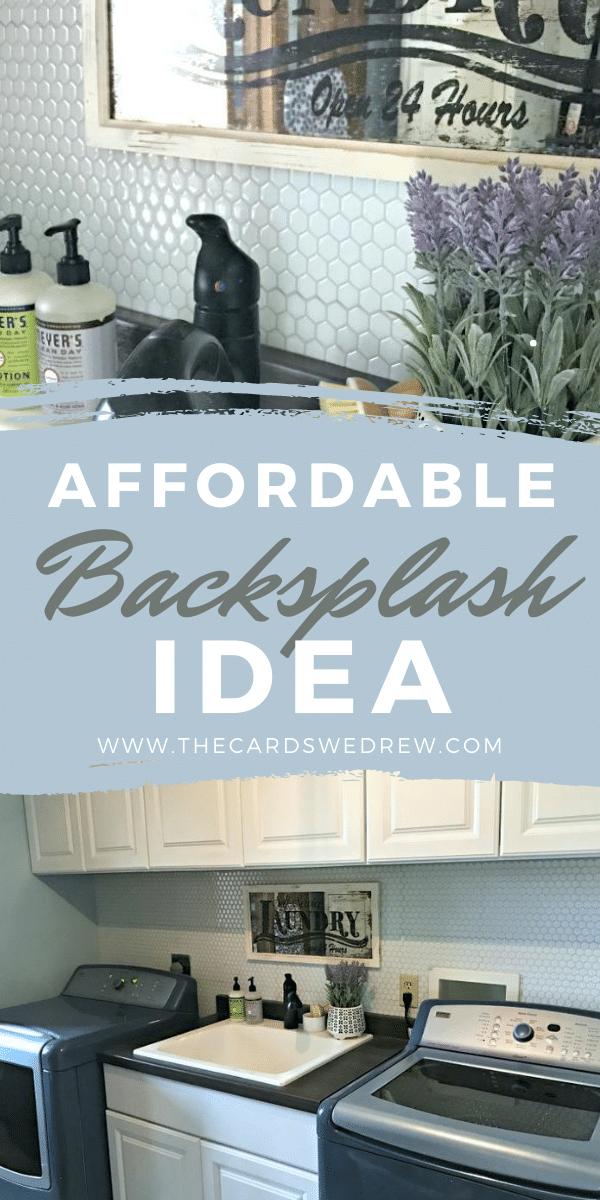 Affordable Backsplash Ideas