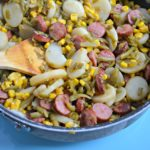 A Quick and Easy Dinner: One Pot Kielbasa and Veggies