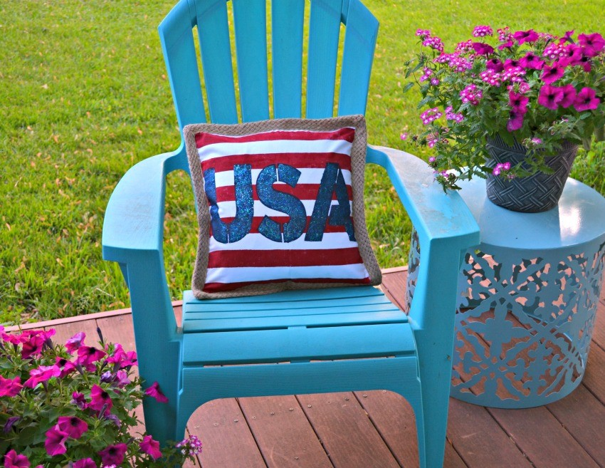 DIY Americana Pillow