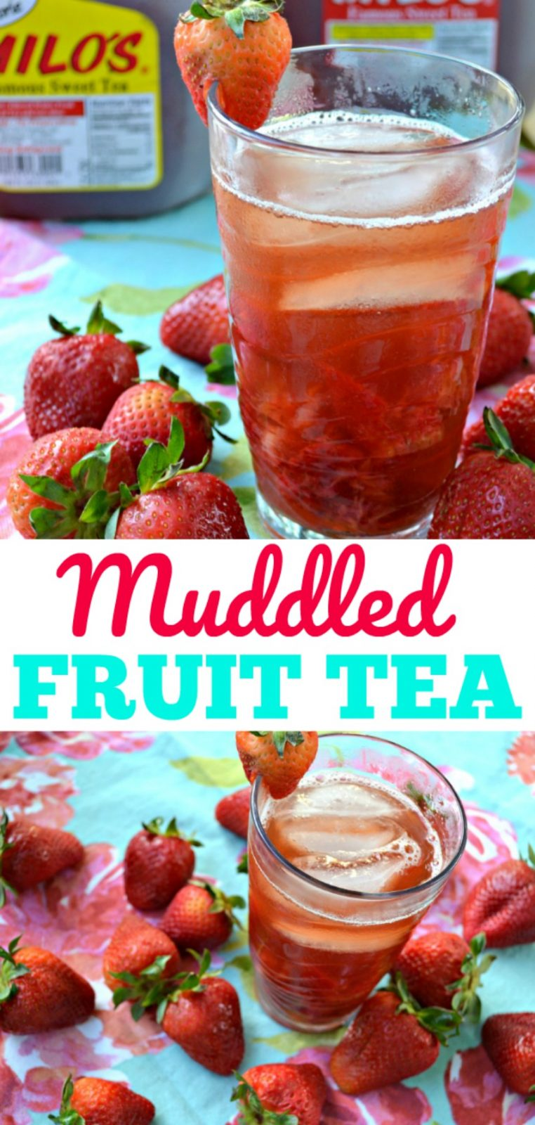Muddled Fruit Tea