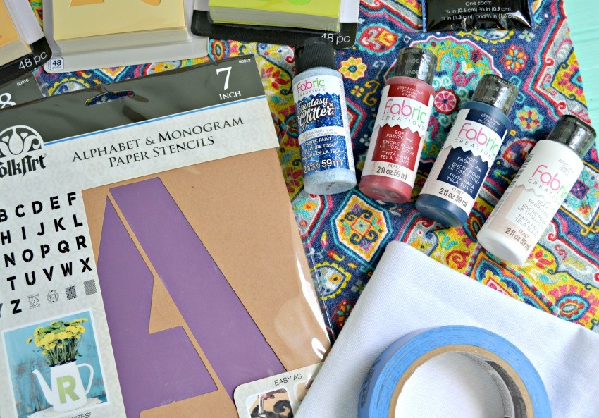 fabric stenciling kit