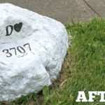 DIY Home Address Rock