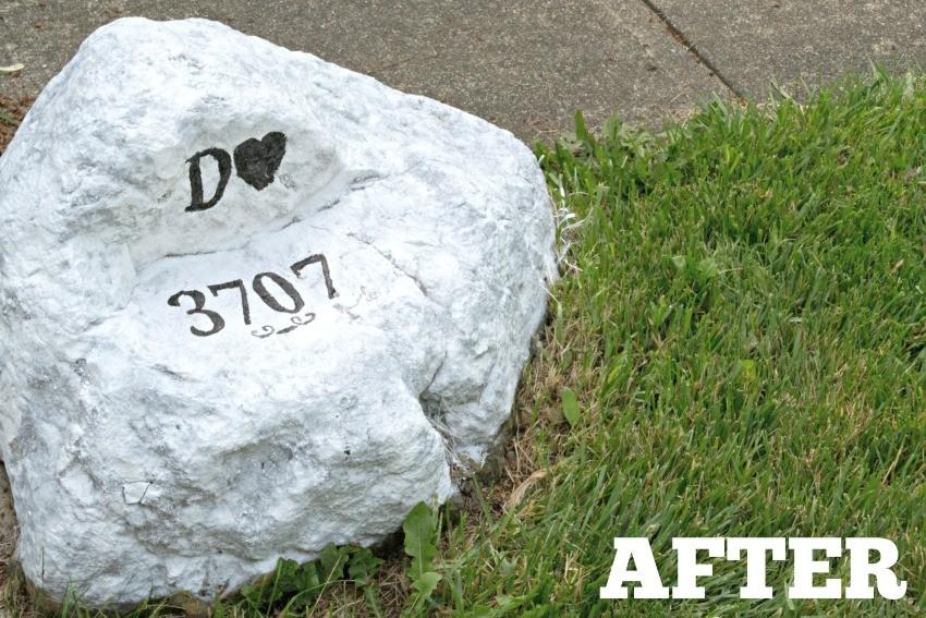 address rocks for yard