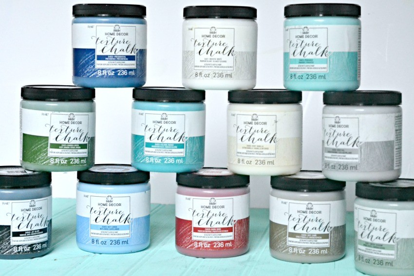 FolkArt Home Decor Texture Chalk Paint