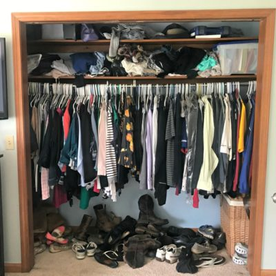 Small Closet Makeover {PART ONE}