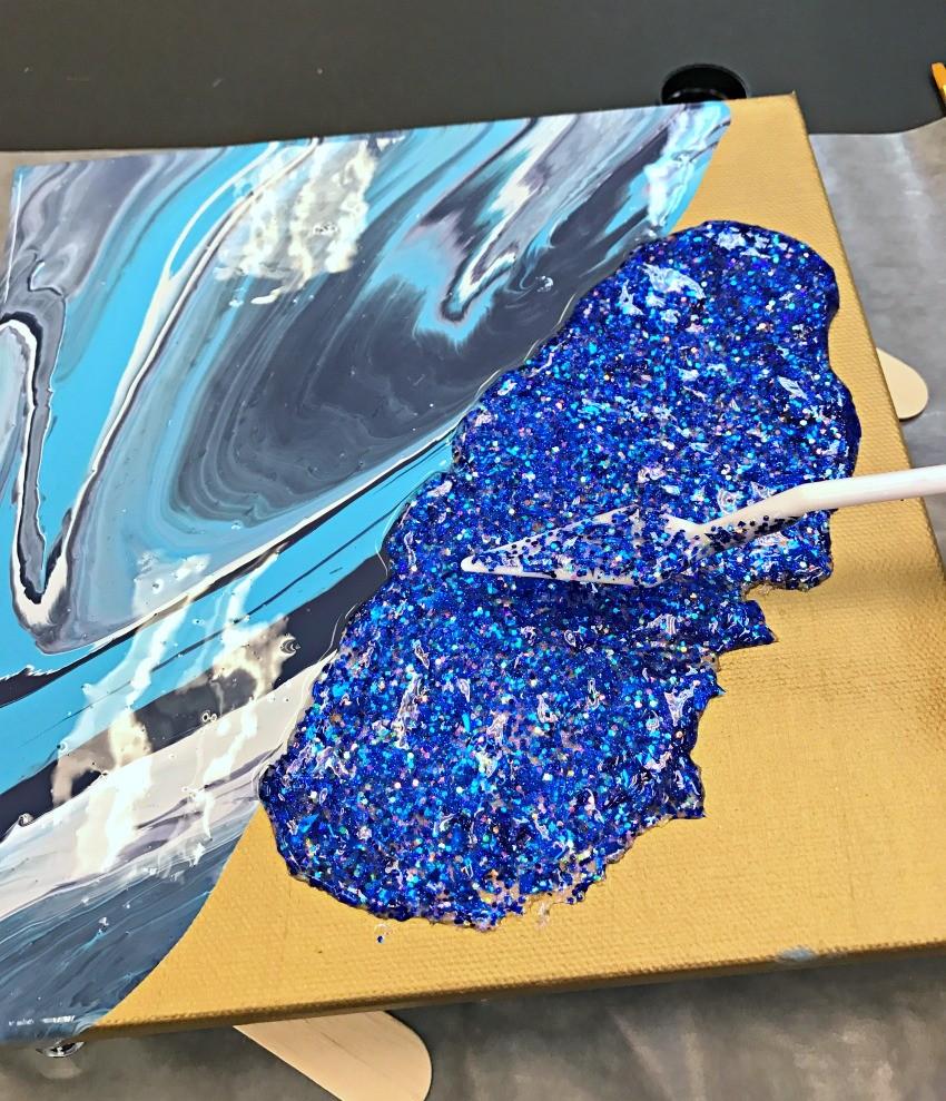 glitterific paint projects