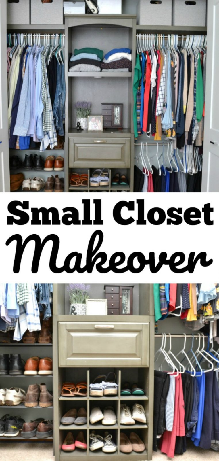 Small Closet Makeover Ideas