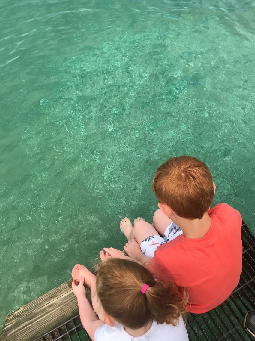 visiting Lake Michigan