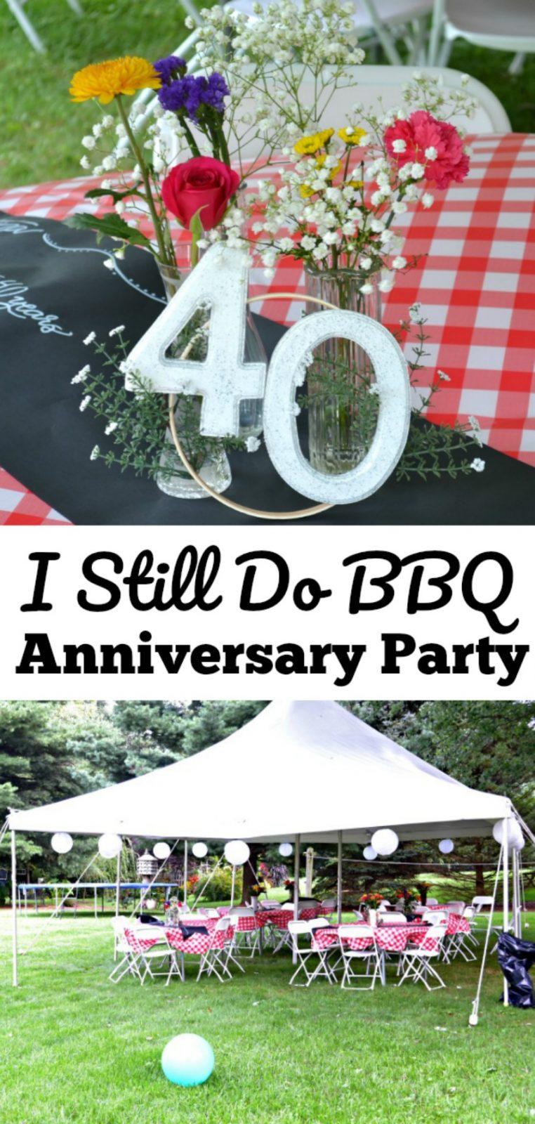 I Still Do BBQ Anniversary Party
