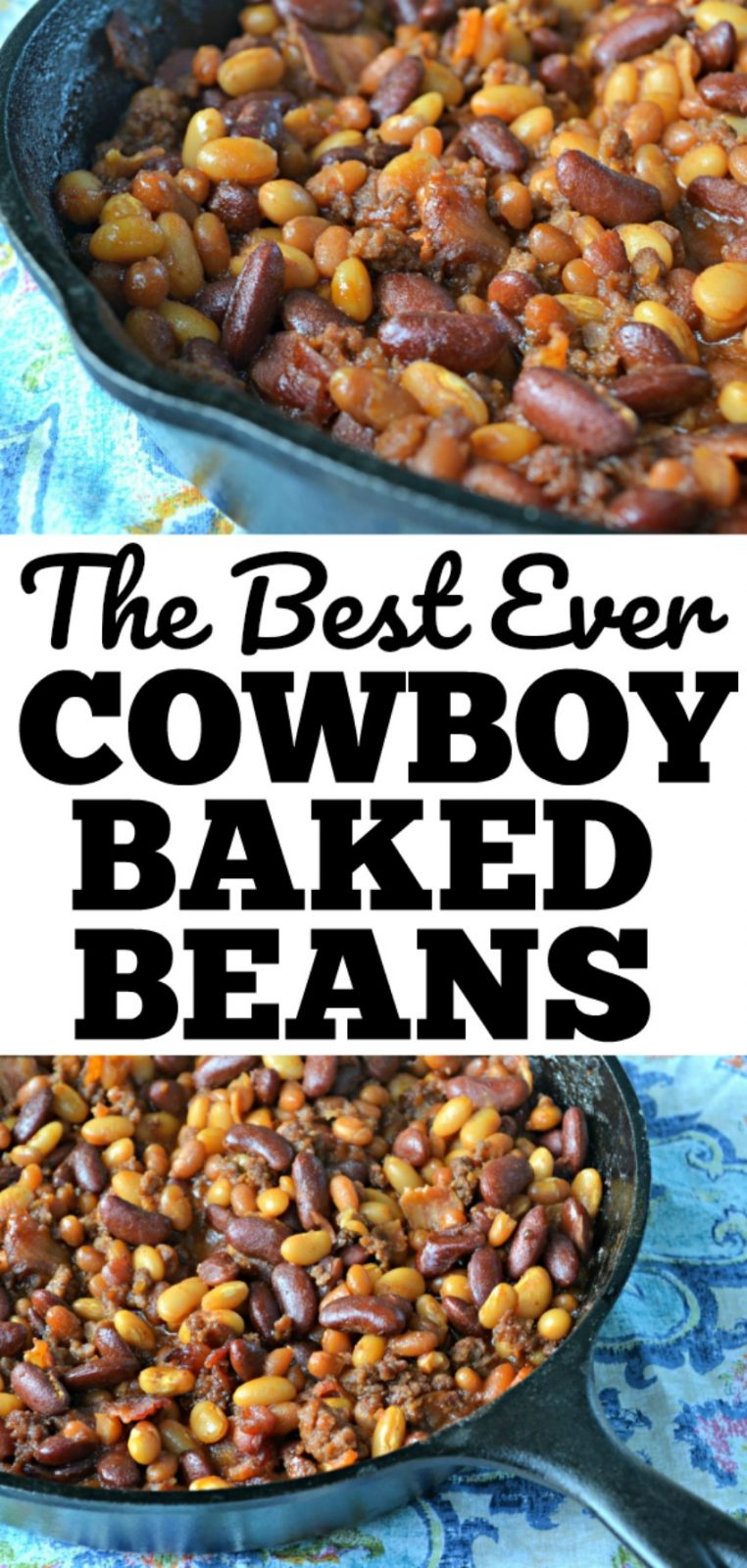 The Best Ever Cowboy Baked Beans recipe