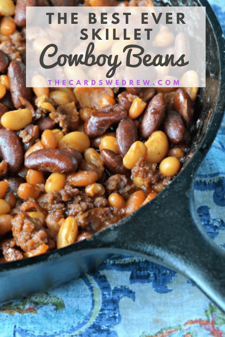 The Best Ever Skillet Cowboy beans