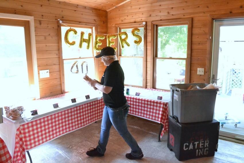 anniversary party catering columbus ohio