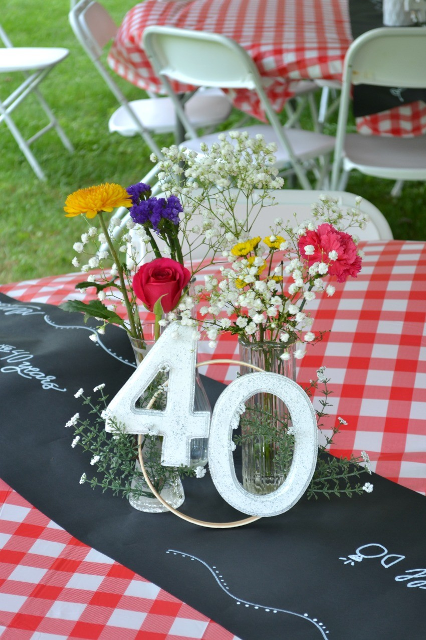 small anniversary party ideas