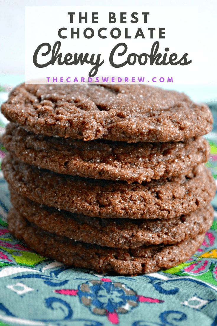 The Best Chewy Chocolate Cookies