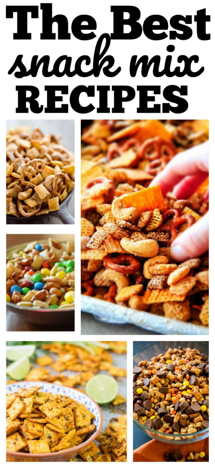 The Best Snack Mix Recipes