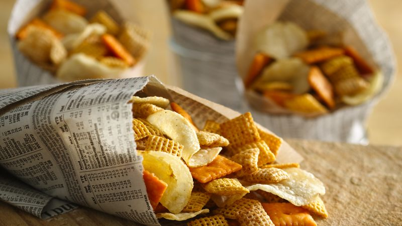 salt and vinegar snack mix