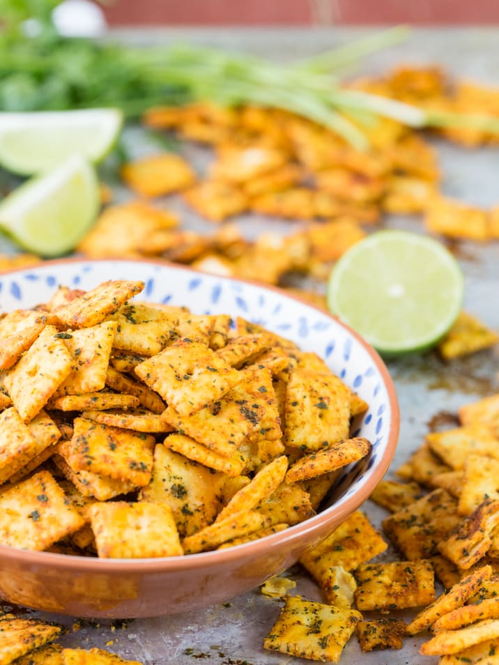 mexican spice cheezit snack mix