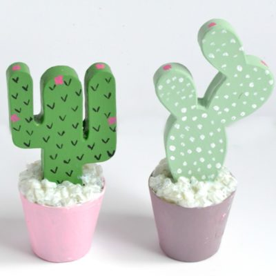 Paper Mache Cactus Crafts