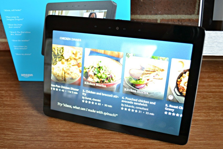 Amazon Echo Show recipes