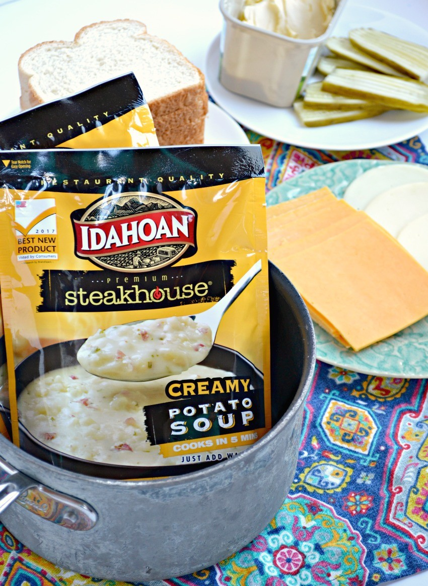 Idahoan Steakhouse Soup