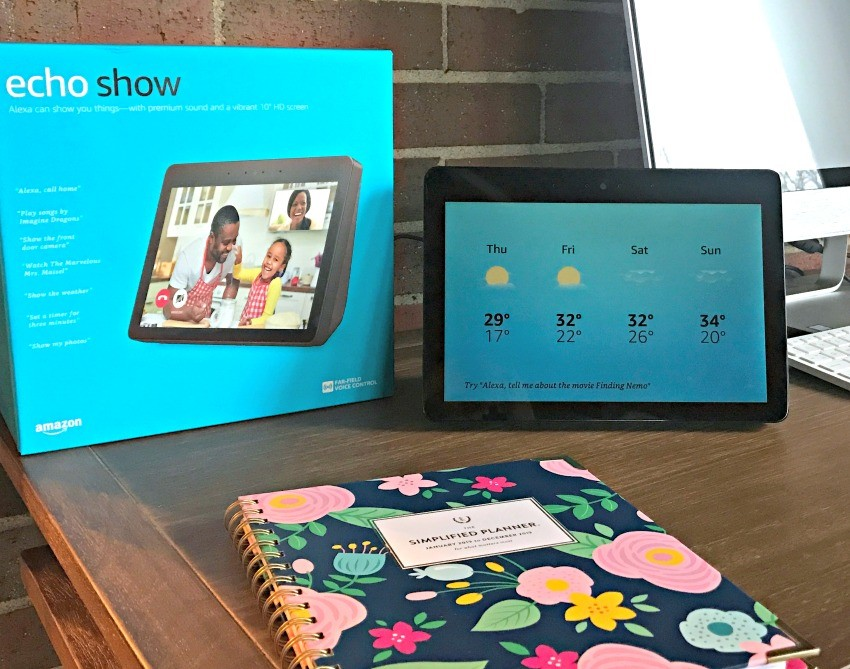 amazon echo show features