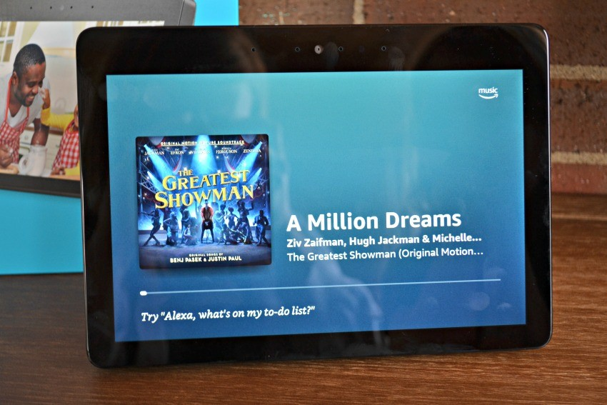 amazon echo show music