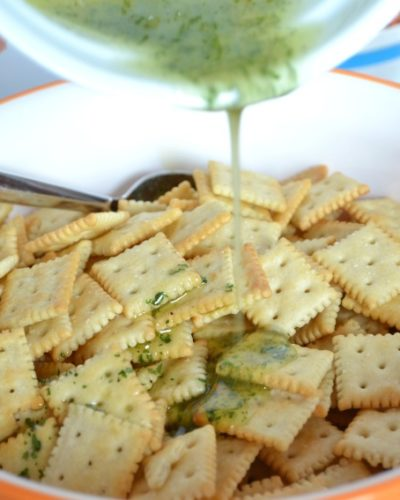 seasoned saltine cracker recipe