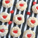 Valentine's Day Three Ingredient Cake Mix Cookies