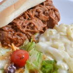 BBQ Ranch Slow Cooker Pulled Pork Sandwiches