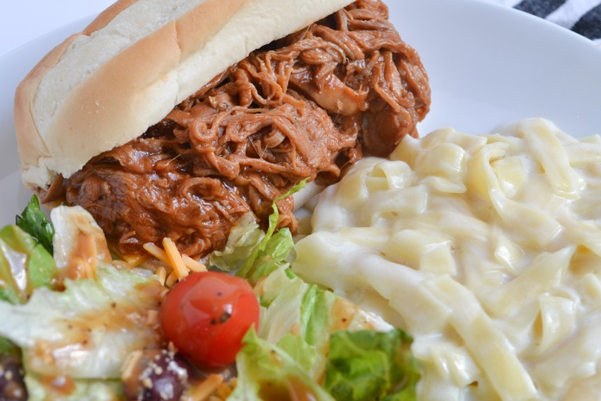 BBQ Ranch Pulled Pork Sandwiches
