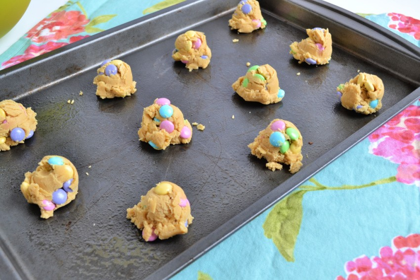 M&M Cookies without Shortening