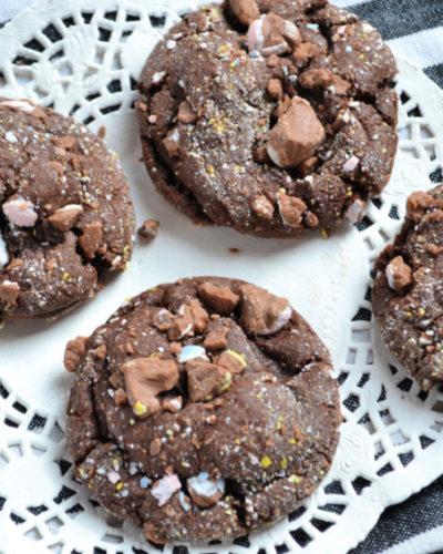 cadbury chocolate easter cookies