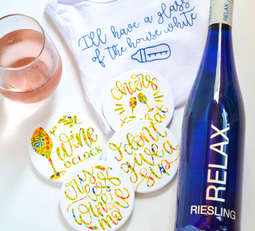 New Mom Wine Gift