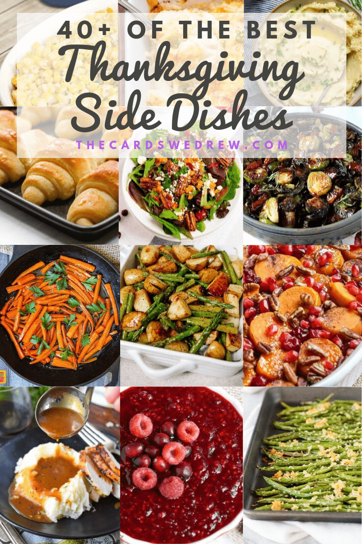 40+ Thanksgiving Side Dish Ideas